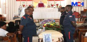 Haiti:  Funérailles de Cledamène Elvariste du Service de la voirie assassinée par des bandits