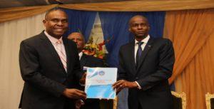 Haiti: Remise officielle du plan de modernisation de l'État au Gouvernement de la République