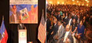 Haiti: Jovenel Moise chaleureusement accueilli par la communauté haïtienne à Spring Valley
