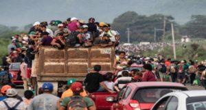 Monde: La caravane de migrants en route vers les États Unis arrivée au Mexique