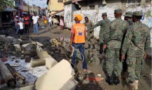 Haiti: Des militaires déployés à Gros Morne et à Port de Paix après le séisme