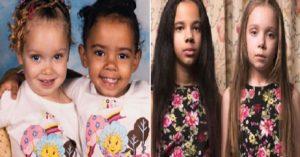 Monde: Ces jumelles redéfinissent la notion même de race