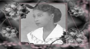 A la mémoire de Mme Charles Salnave née Solange Rose Circée Tassy (Lolotte)