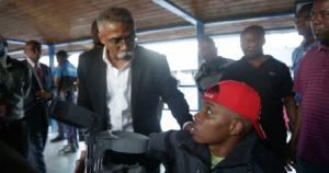 Haiti: L'histoire émouvante d'un jeune Haïtien revenu du Chili en fauteuil roulant