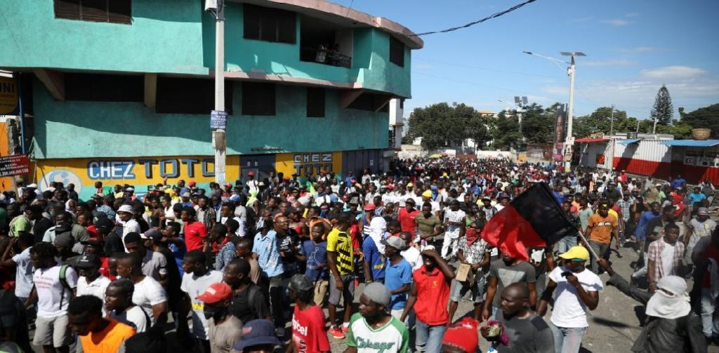 Haiti: Trois jours de manifestations, des rues de la capitale toujours bloquées