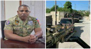 Haiti: Michel Ange Gédéon décline toute responsabilité face aux uniformes étranges