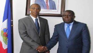 Haiti: Installation officielle du premier directeur général du Fonds National d'Éducation M. Joseph Frantz Nicolas