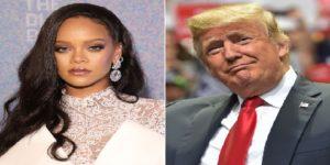 Monde: Rihanna furieuse contre  Donald Trump pour avoir utilisé sa musique