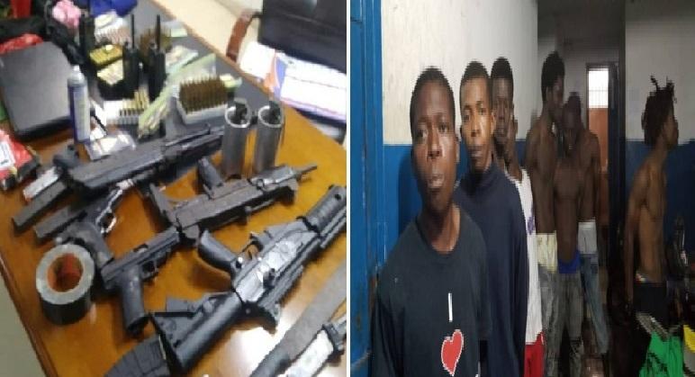 Haiti: Un chef de gang et dix présumés bandits arrêtés