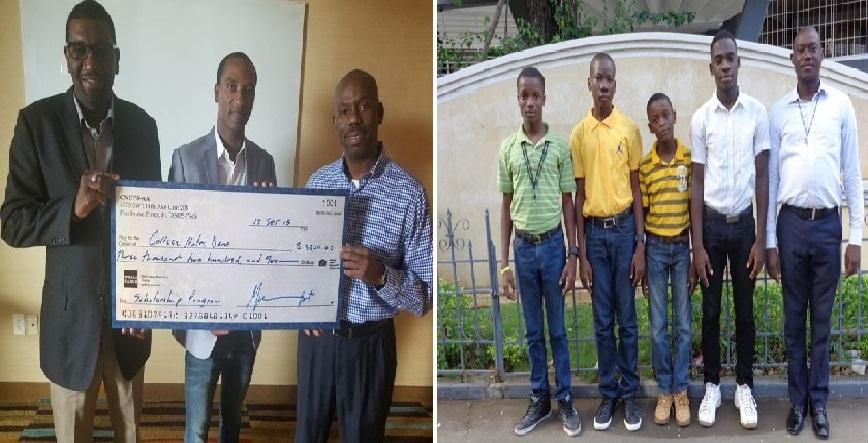 Haiti: La Direction du Collège Notre Dame remercie le CNDPS-AA, l'association des anciens