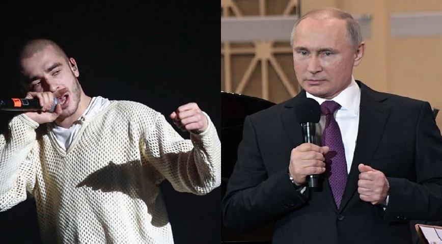 Monde: Vladimir Poutine veut contrôler la musique rap à cause de sa popularité chez les jeunes russes