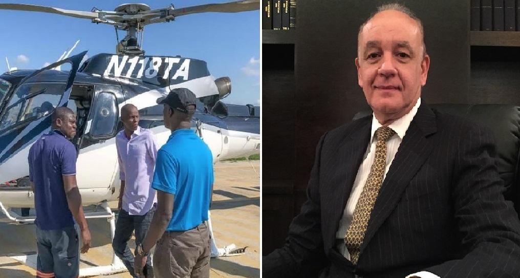 Haiti: Jovenel Moise forcé d'annuler sa visite par hélicoptère pour cause de dette envers Shérif Abdallah