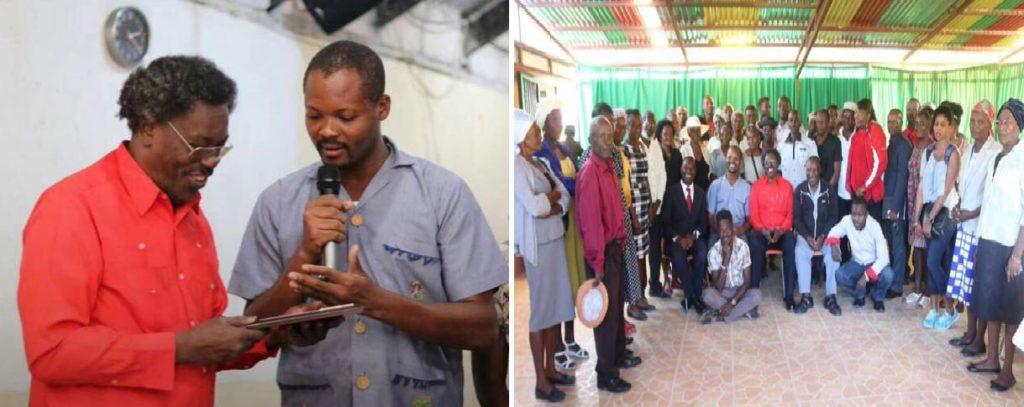 Haiti: Hommage au grand défenseur de la paysannerie, le revérend père Cico Jean