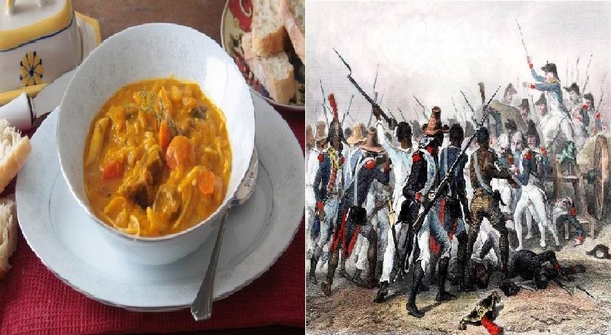 """Pourquoi dit-on """"soup joumou"""" ou soupe de l'indépendance?"""