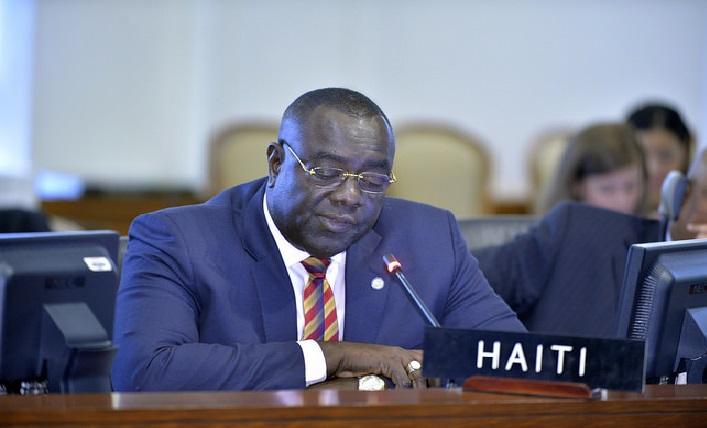 Monde: Bocchit Edmond «Dérangeante, la déclaration des 3 membres du Congrès américain pour une transition en Haïti»