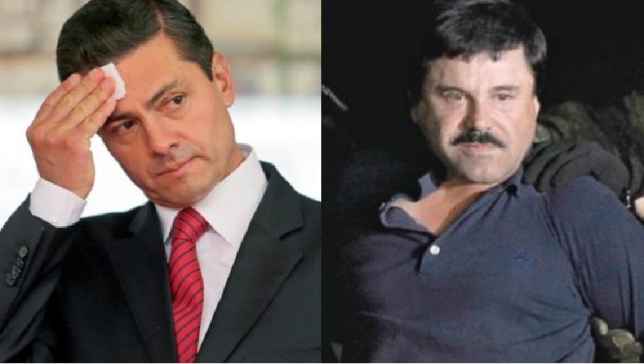 Monde: L'ex-président mexicain Enrique Peña Nieto aurait reçu 100 millions U$ en pots-de-vin de El Chapo