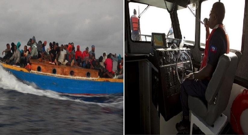 Monde: 97 voyageurs haïtiens dans une embarcation de fortune appréhendés