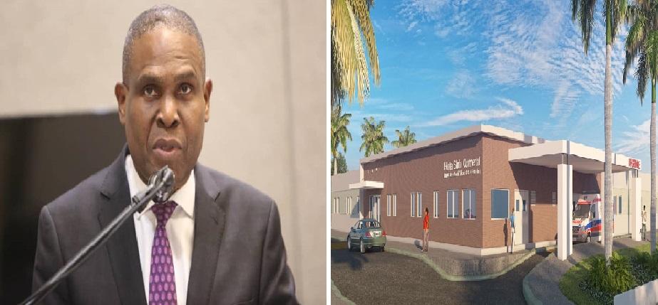 Haiti: Jean Henry Céant annonce la reprise des travaux de l'hôpital Simbi Continental