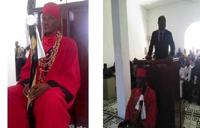 Haiti: Un hougan prête serment pour célébrer des baptêmes, des mariages, des funérailles…