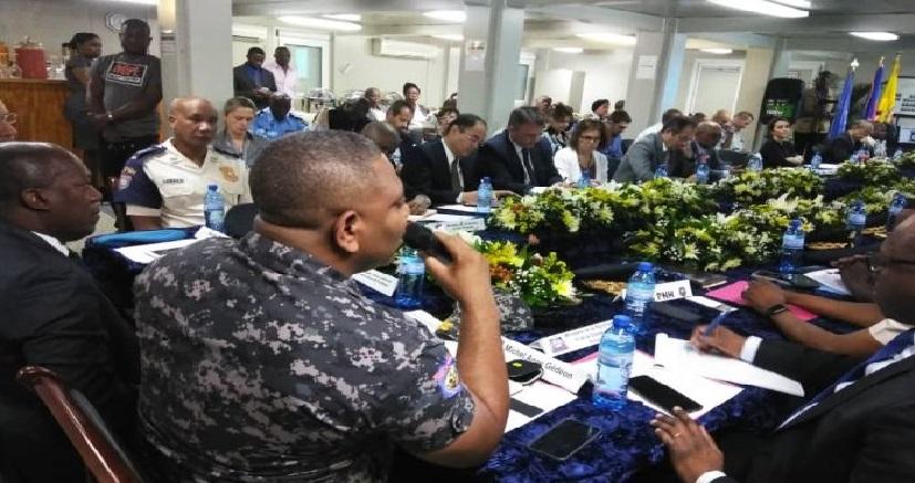 Haiti: Michel-Ange Gédéon satisfait de la  rencontre d'évaluation du plan stratégique de la PNH