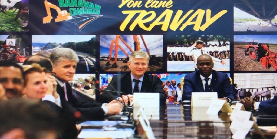 Haiti: Jovenel Moïse se tourne vers l'ONU pour la réalisation du dialogue national