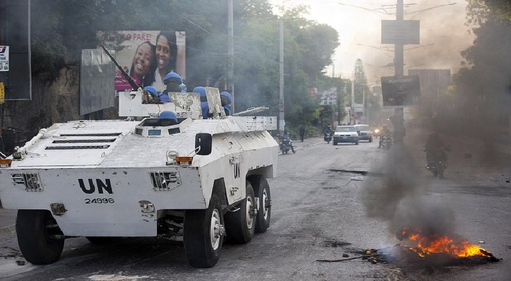 Haïti : Un blindé de l'ONU entre en collision avec un tap-tap, 4 personnes tuées