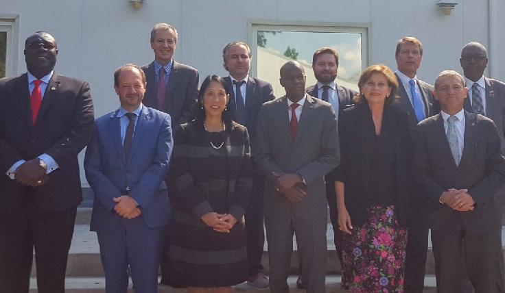 Haiti:  L'international croit que la solution doit absolument passer par le dialogue