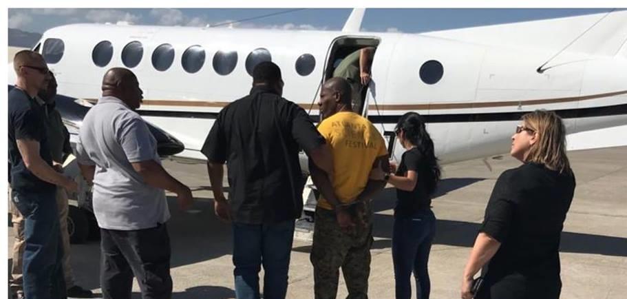 Haiti: L'ancien commissaire de police Innocent Jean Edinord extradé aux États-Unis