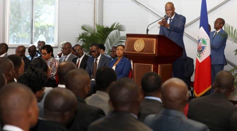 Haiti: Jovenel Moïse tend de nouveau la main à l'Opposition