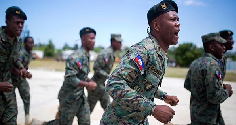 Haiti: Des professionnels formés au Mexique viennent renforcer l'armée d'Haiti