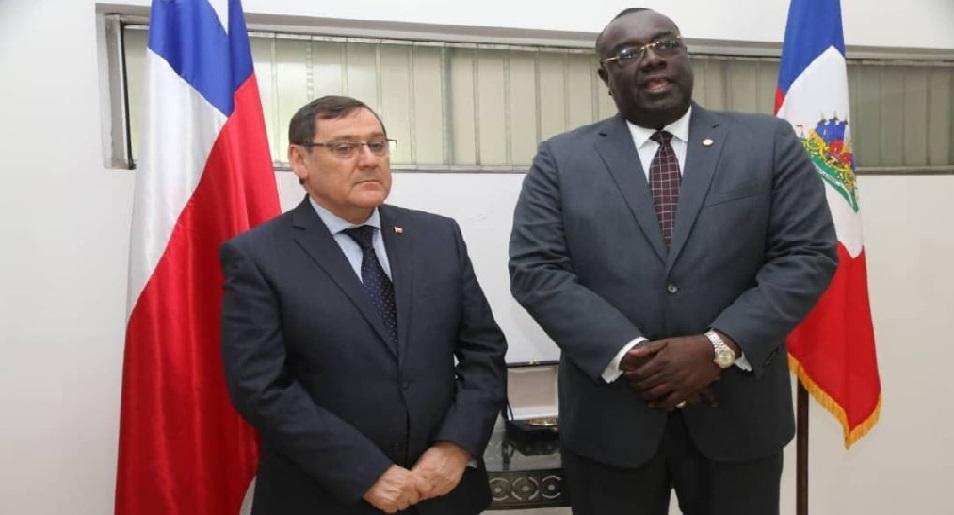 Haiti: Le gouvernement  présente des excuses à l'ambassadeur chilien