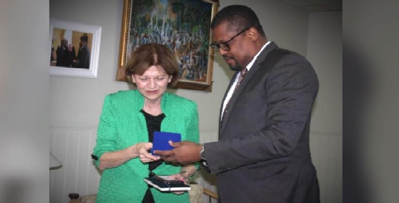 Haïti: Rencontre fructueuse entre le président de la chambre basse et  la cheffe de la MINUJUSTH