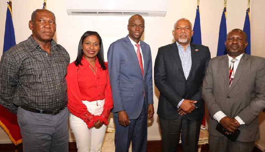 Haiti: Le Président Jovenel Moïse poursuit le dialogue avec les acteurs politiques