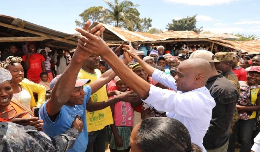 Haiti: Le président de la République, Jovenel Moïse, visite la commune de Cornillon
