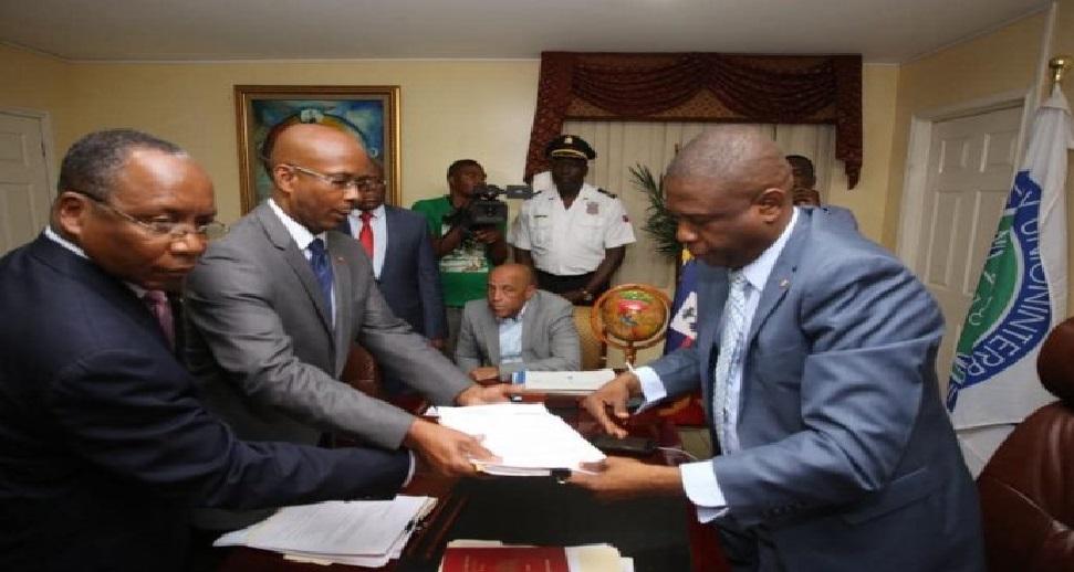 Haiti: Le Premier ministre nommé Jean Michel Lapin a remis sa démission