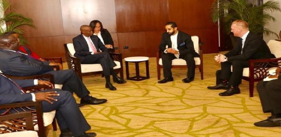 Monde: Jovenel Moïse présente les potentialités d'Haïti en matière d'investissements