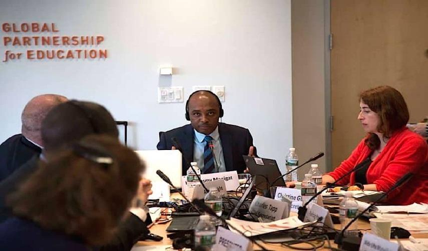 Haiti: Nesmy Manigat réélu comme président du comité de Gouvernance et d'Ethique du Partenariat Mondial pour l'Education