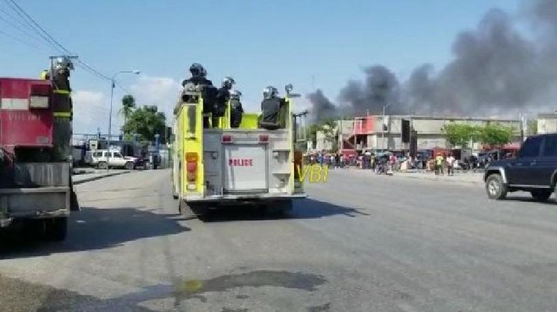 Haiti:  Recrudescence de la violence, la gare du marché de la Croix-des-Bossales incendiée
