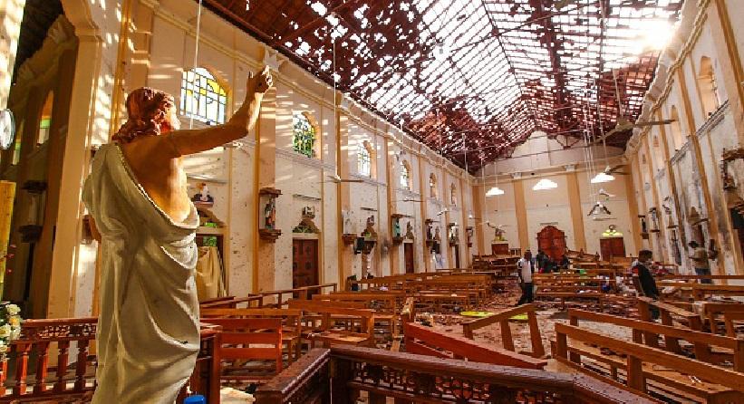 Monde: Attentats en série contre des églises célébrant la messe de Pâques au Sri Lanka