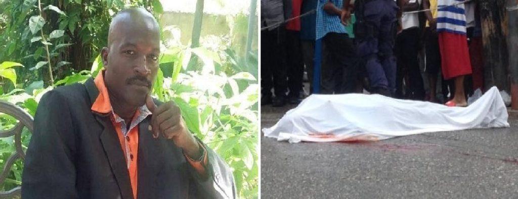 Haiti: Protestation suite à l'assassinat de l'inspecteur de police, Alix Jean René