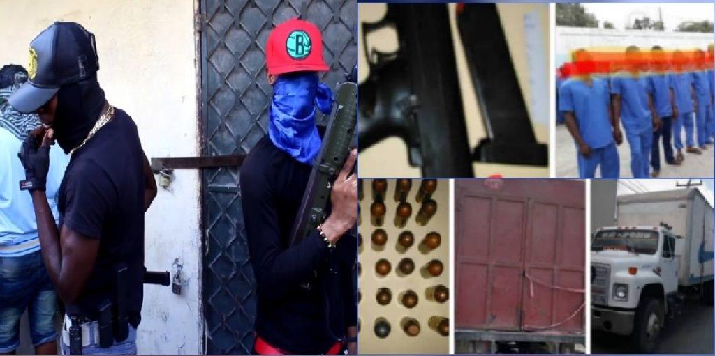Haïti: 53 présumés soldats de Arnel Joseph camouflés dans un camion, arrêtés dans le Nord