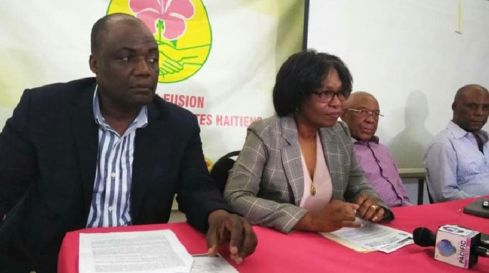 Haiti: Marie Giselhaine Mompremier officiellement exclue du parti Fusion des Socio-démocrates