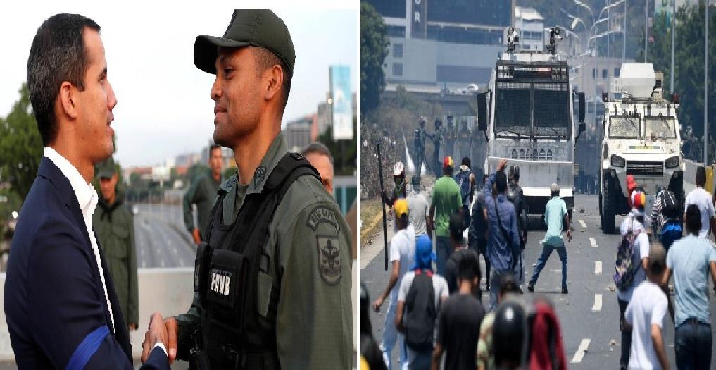 Monde: Juan Guaido « Plus de retour en arrière »