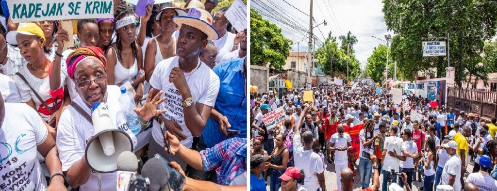 Haiti: Cris de détresse, de rage, et de colère contre l'insécurité et le viol sur des étudiantes
