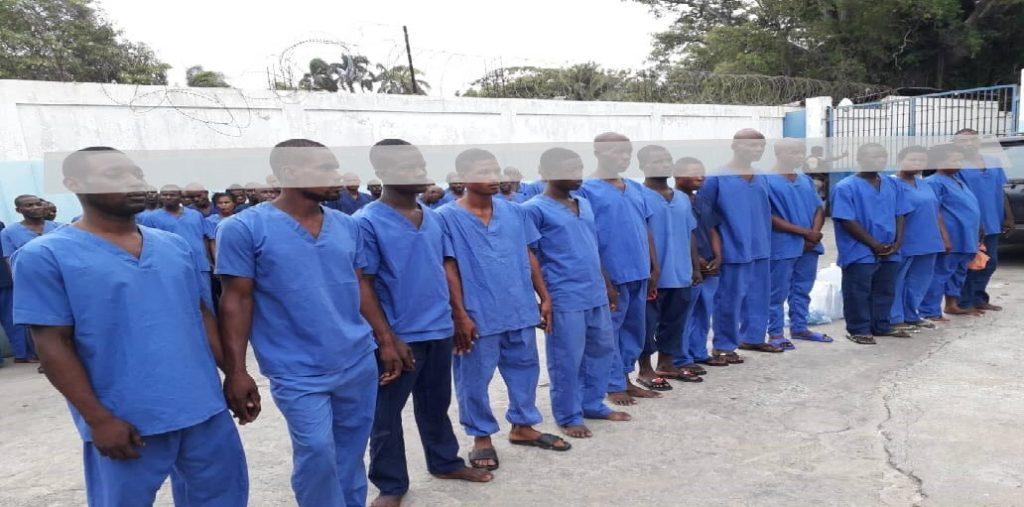 Haiti: Audition des 53 présumés bandits arrêtés à Limbé