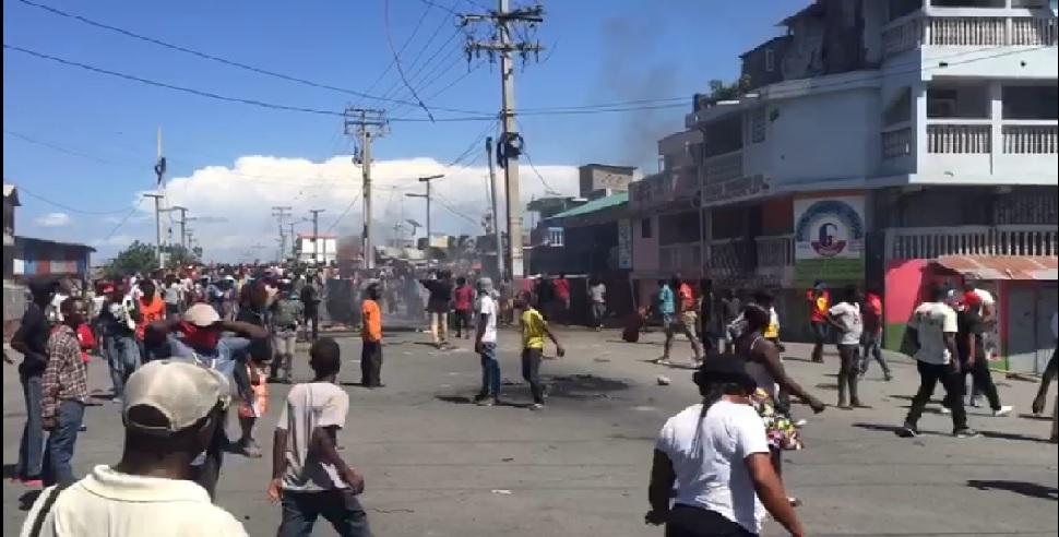 Haiti: Violences au  rond point Samarie à Cap-Haitien