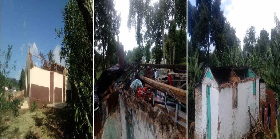 Haiti:  Des dégâts matériels considérables après le passage d'une violente tornade