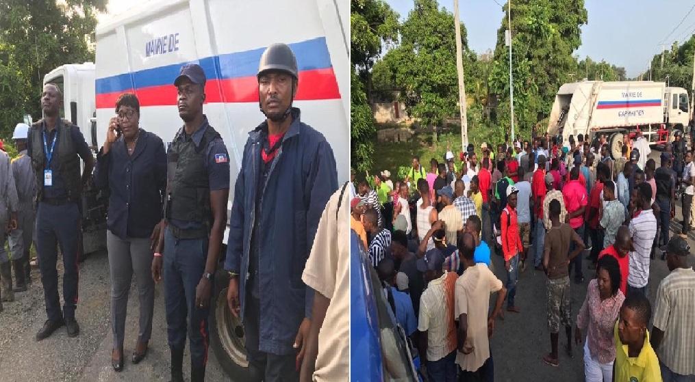 Haïti: Le Département du Nord exige la reprise des travaux de construction de son centre de traitement des déchets
