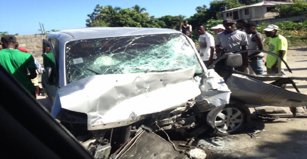 Haiti: Trois (3) morts et une dizaine de blessés dans un accident de la circulation