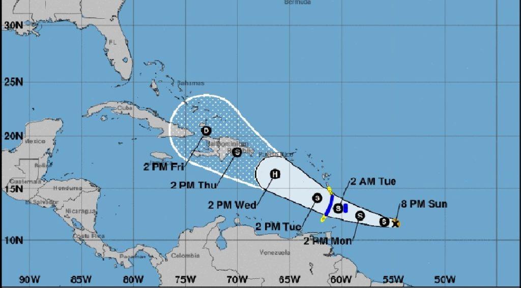 Monde: La tempête tropicale DORIAN, une menace réelle pour l'Arc des Antilles